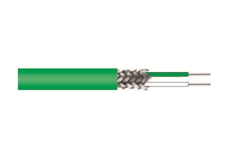 """Ausgleichsleitung; Themroelement Typ: Typ K:   Ausgleichsleitung NiCr-Ni """"K""""  2 x 0,22mm2 (AWG 24)  Adern mit FEP isolier"""