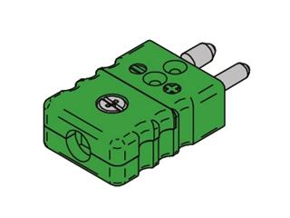 Kabelstecker TC Standard:   Kabelstecker Typ K Standard Stecker zur Montage von Kabeln Thermoelement Typ