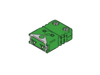 Kabelbuchse TC MINI Lock:   Kabelbuchse Typ K MINI Lock Kabelbuchse mit Verriegelung passend für Thermoe