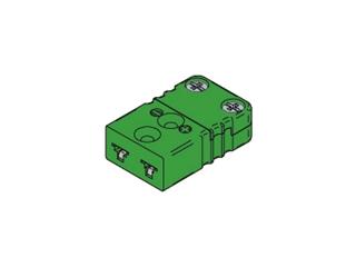 Kabelbuchse TC MINI:   Kabelbuchse Typ K MINI Kabelbuchse passend für Thermoelement Typ K Gehäuse a