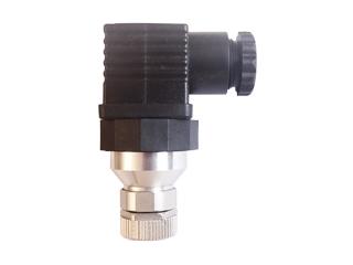 Adapter M12:   Adapter M12 auf Winkelstecker nach DIN 43650 Form A  Inkl. Winkelstecker