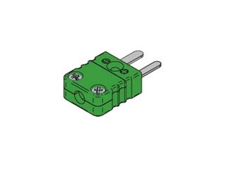 Kabelstecker TC MINI:   Kabelstecker Typ K MINI Kabelstecker passend für Thermoelement Typ K Gehäuse