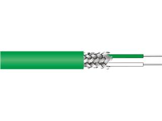 """Ausgleichsleitung:   Ausgleichsleitung NiCr-Ni """"K""""  2 x 0,22mm2 (AWG 24)  Adern mit FEP isolier"""