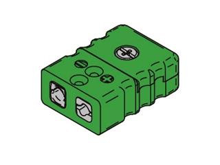 Kabelbuchse TC Standard:   Kabelbuchse Typ K Standard Steckkupplung zur Montage von Kabeln mit Schirman